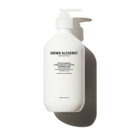 GROWN ALCHEMIST 抗氧化排毒洗髮水: 水解蠶絲蛋白 、番茄紅素、鼠尾草 500ml