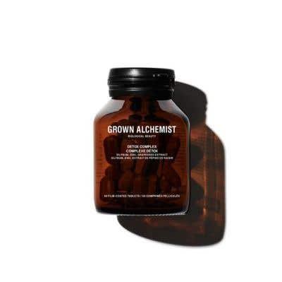 GROWN ALCHEMIST 乳薊複合淨化片: 乳薊果、鋅 、葡萄籽 60 tablets